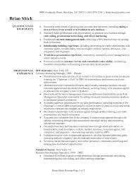 Mis Sample Resume