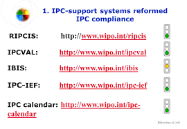 wipo international bureau p fiévet may 30 wipo implementation status report ipc support