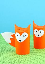 Toilet Paper Roll Fox