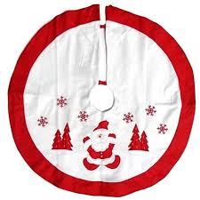 36 Inch Christmas Tree Skirt Santa