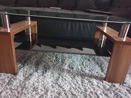 wohnzimmer tisch in schwarz nussbaum in 12689 berlin for