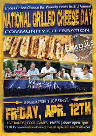 100 Grilled Cheese Food Truck National Day