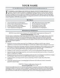 Accounts Payable Manager Resumes Sradiodigitalco Resume