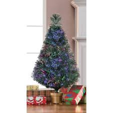 7ft Fibre Optic Christmas Tree by Artificial Christmas Tree Pre Lit 32