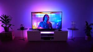 philips hue play gradient lightstrip ambilight am tv nachrüsten