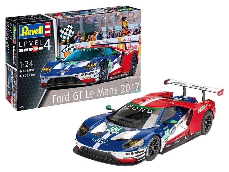 Revell Germany Level 1/24 Ford GT Le Mans Plastic Model 07041