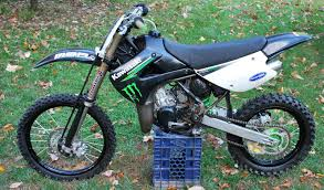 KX100 Monster Energy 2009 Kawasaki Motocross Dirt Bike Dirtbike Motox KX 100