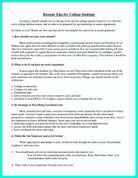 Cool Best College Student Resume Example To Get Job Instantly
