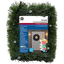 Philips Pre Lit Christmas Tree Replacement Bulbs by Amazon Com 18 U0027 Pre Lit Green Pine Artificial Christmas Garland