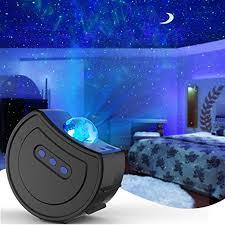hisome projektor nachtlicht led sternennacht licht projektor dynamische wolken romantischer sternenhimmel kinder erwachsene schlafzimmer licht