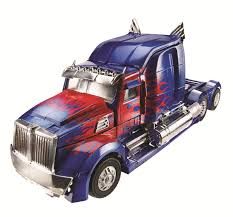 100 Optimus Prime Truck Model Age Of Extinction Leader Class Official Images