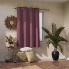 vorhang amelia home blackout mauve 1 stück