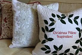 Tj Maxx Christmas Throw Pillows by Christmas Pillows U2014 Beckwith U0027s Treasures