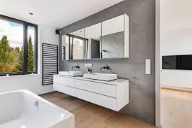 bad schwarz weiß modern badezimmer köln home