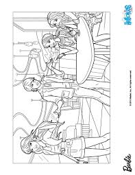 Barbie Fashion Fairytale Coloring Pages Printable COLORING PAGE