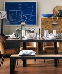 Ingenious Idea Nautical Themed Dining Room Decorating Ideas Wallpaper Cushions Lighting