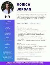 Human Resources (HR) Resume Example
