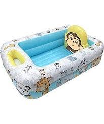 amazon com garanimals inflatable safety baby bathtub by disney