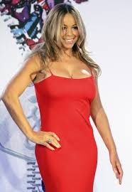 Rockefeller Christmas Tree Lighting Mariah Carey by Mariah Carey Wears Show Stopping Red Dress At Rockefeller Center