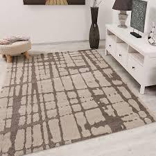 sverr designer kurzflor moderner teppich wohnzimmer