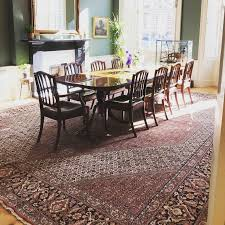 Sothis Is A Question We Get Asked Lotshould One Put Persian Or Oriental Carpet Rug Underneath Dining Table Isnt It Waste Of Good I Hear