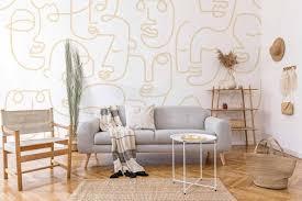 abstrakte tapeten sind eine tolle alternative für die