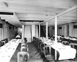 3rd Class Dining Room In Oceanic