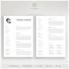 Modern CV Template With Photo | 1, 2 Page Resume | Professional ... Two Page Atsfriendly Resume With Testimonial And Quote Section 25 Top Onepage Templates With Simple To Use Examples Should A Be One Awesome Formal Format Document Plus Fit How To Make 17 Sensational Design Ideas 11 Sample Of Wrenflyersorg Ekbiz Free Creative Template Downloads For 2019 Are One Page Or Two Rumes Better Format 28 E