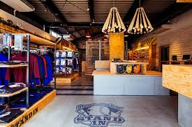 STANDIN Baseball Store By Design Office Dress Fukuoka Japan