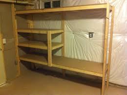 wood shelves for basement kashiori com wooden sofa chair