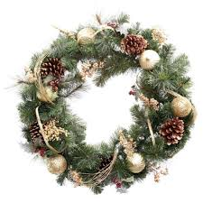 Hobby Lobby Pre Lit Led Christmas Trees by Christmas Artificial Christmas Wreaths Unlit For Saleunlit