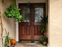 Rustic Entry Doors With Front
