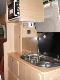 Oven And Sink Fitted In A Camper Conversion By Ceide Campervan Conversions Co Donegal