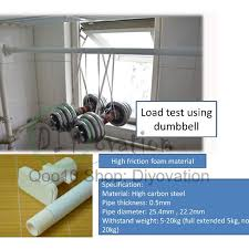 Curtain Rod Extender Diy by Diy Extension Rod Hanging Drying Rod Curtain Rod Non Drill No