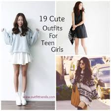 Casual Outfits For Teen Girls 19 Cute Dresses Look