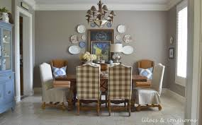 Country Dining Room Color Simple Schemes