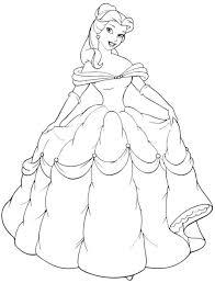 FilmDisney Princess Colouring Book Disney Coloring Free Printable Pages