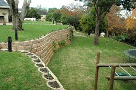 A Steep Garden Transformed With Retaining Wall Blocks | DIY ... Brick Garden Wall Designs Short Retaing Ideas Landscape For Download Backyard Design Do You Need A Building Timber Howtos Diy Question About Relandscaping My Backyard Building Retaing Fire Pit On Hillside With Walls Above And Below 25 Trending Rock Wall Ideas Pinterest Natural Cheap Landscaping A Modular Block Rhapes Sloping Also Back Palm Trees Grow Easily In Out Sunny Tiered Projects Yard Landscaping Sloped