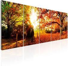 leinwand bilder wald natur wandbilder akustikbild home décor
