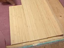 Hardwood Floor Spline Glue by How To Install Bamboo Plank Flooring How Tos Diy