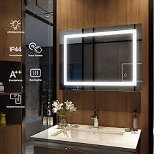 byecold badspiegel mit led beleuchtung wandspiegel