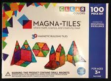 magna tiles 100 target magna tiles magnetic building sets ebay