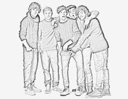 Coloring Pages One Direction Printable
