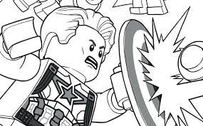 Marvel Thanos Coloring Pages Fresh Black Panther Civil War 1 222