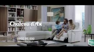 Chateau Dax Italian Leather Sofa by Giacomo Relaxez Vous Avec Chateau Dax Youtube Sofas Chateau D Ax