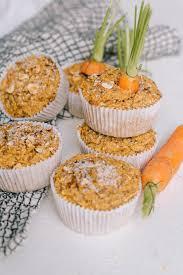 carrot cake muffin vegan glutenfrei