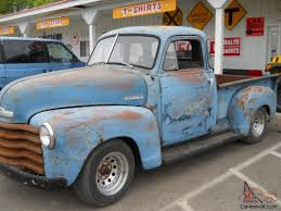 100 53 Chevy Truck For Sale 19 Pickup 5 Window 3100 Model Short Box Rat Rod Patina Sunbaked