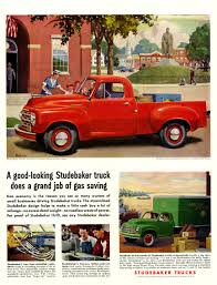 1953 Studebaker Trucks Ad - Wishing They Were Still So Fuel ... Making Trucks More Efficient Isnt Actually Hard To Do Wired Fords Hybrid F150 Will Keep Your Beer Cold The Drive Chevrolet Colorado Is Americas Most Fuel Pickup Top 5 Pickup Grheadsorg Gm Says Canyon Diesels Are Ecofriendly Haulers 10 Fuelefficient Pickups Photo 2015 Ram Ecodiesel The Supersippy Pickup Winnipeg Free Press 140 Best Chevy And Gmc Trucks Images On Pinterest Natural Gas Truck Cversions Cng Pitstop 15 2016 Five
