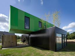 100 Container Box Houses EcoFriendly Crossbox House By CG Architectes