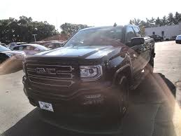 100 Black Trucks For Sale Used 2016 GMC Sierra 1500 Truck Double Cab Onyx